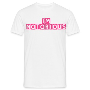 Men's The Saturdays 'Im Notorious' Standard T-Shirt - Men's T-Shirt