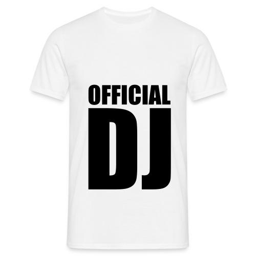 DJ - T-shirt Homme