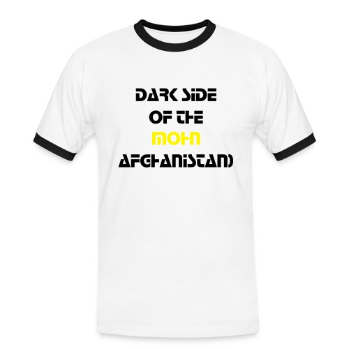 Dark Side Of The Mohn. Afghanistan (Pink Floyd) - Männer Kontrast-T-Shirt