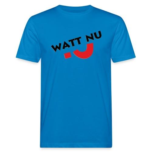 WattNu? Männershirt - Männer Bio-T-Shirt
