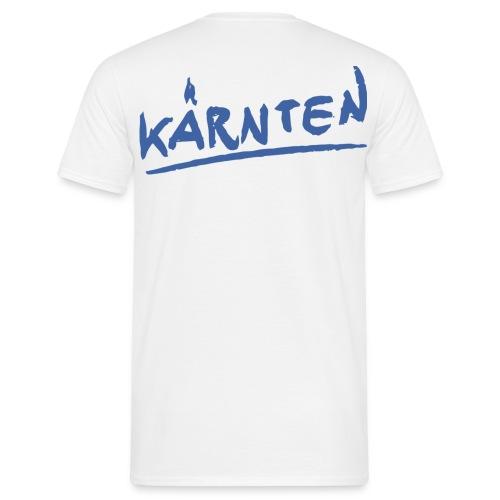 Männer T-Shirt klassisch weiß Kärnten - Männer T-Shirt