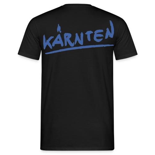 Männer T-Shirt klassisch schwarz Kärnten - Männer T-Shirt