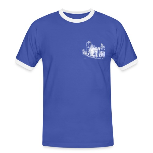 Logo Dorpshuis Mannen - Mannen contrastshirt
