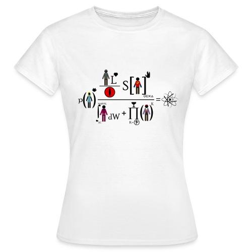 The Big Bang Theory - equation - Camiseta mujer