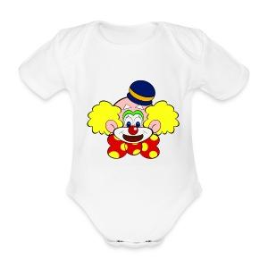 Body bébé clown - Body bébé bio manches courtes