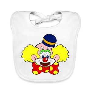 Bavoir bébé clown - Bavoir bio Bébé