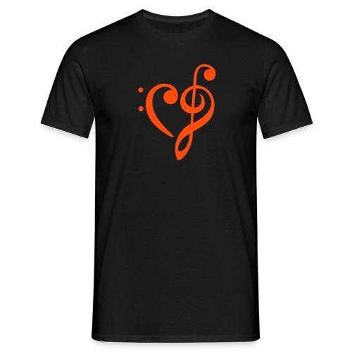 T-Shirt (Boys) Singen bewegt - Männer T-Shirt