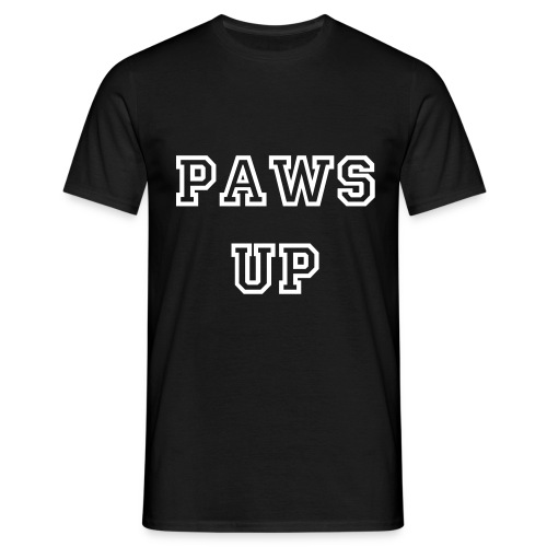 Paws up! (Man) - Men's T-Shirt