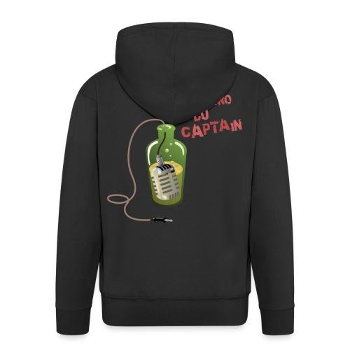 Yoyo t'as l'Logo dans l'dos - Veste à capuche Premium Homme