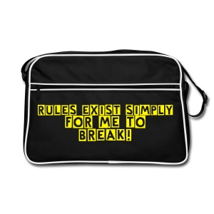 Rule Breaker's Bag - Retro Bag