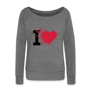 I love womens long sleeve top - Women's Boat Neck Long Sleeve Top