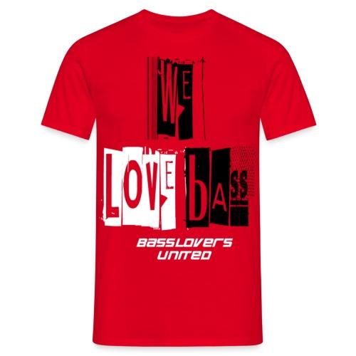 welovebass06 - Männer T-Shirt