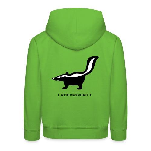 Shirt Stinktier Stinker stinkerchen skunk tiershirt shirt tiermoriv - Kinder Premium Hoodie