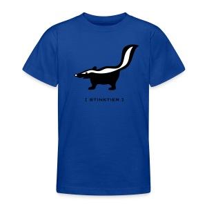 Shirt Stinktier Stinker stinkerchen skunk tiershirt shirt tiermoriv - Teenager T-Shirt