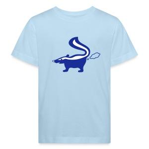 Shirt Stinktier Stinker stinkerchen skunk tiershirt shirt tiermoriv - Kinder Bio-T-Shirt