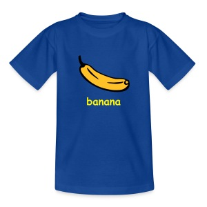 Crys T Plant Banana - Teenage T-shirt