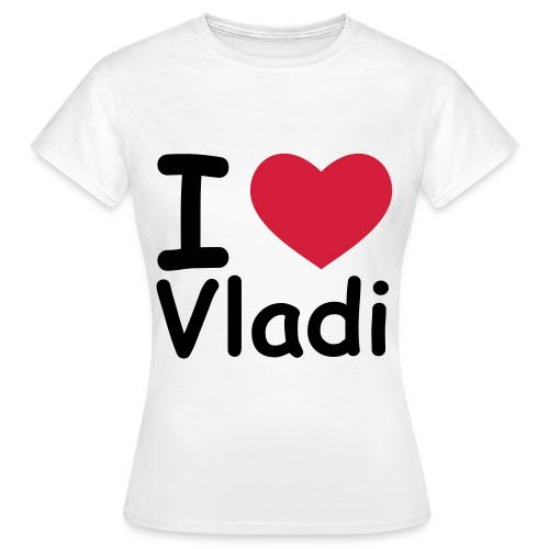 Vladi knows! - Dame-T-shirt