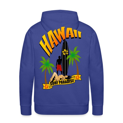 sweatshirt hawaii surfing  - Men's Premium Hoodie