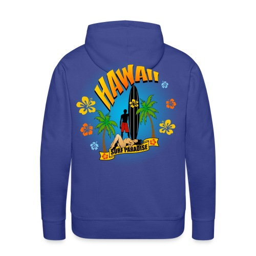 t-shirt hawaii surfing paradise - Men's Premium Hoodie
