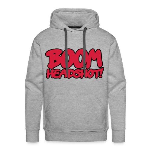 Boom Headshot Hoodie Men's (limited Edition) - Men's Premium Hoodie