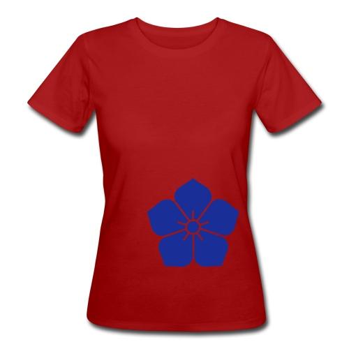 T-shirt bio femme fleur - T-shirt bio Femme