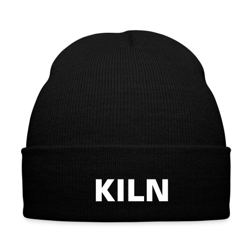 KILN Black Beanie - Winter Hat
