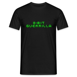 8-bit Guerrilla black - Men's T-Shirt