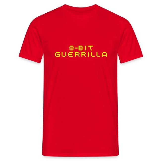 8-bit Guerrilla red/yellow