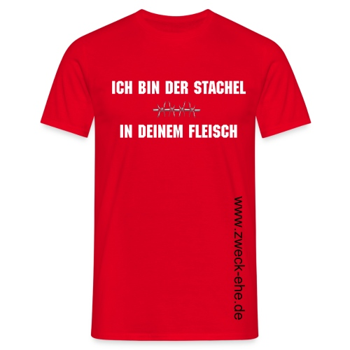 Stachel Male - Männer T-Shirt