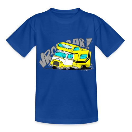 Estafette CC Full Throttle !! - T-shirt Ado