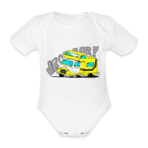Estafette CC Full Throttle !! - Body bébé bio manches courtes