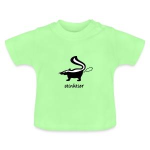 shirt stinktier stinker stinkerchen skunk tier tiershirt tiermotiv niedlich lustig baby - Baby T-Shirt