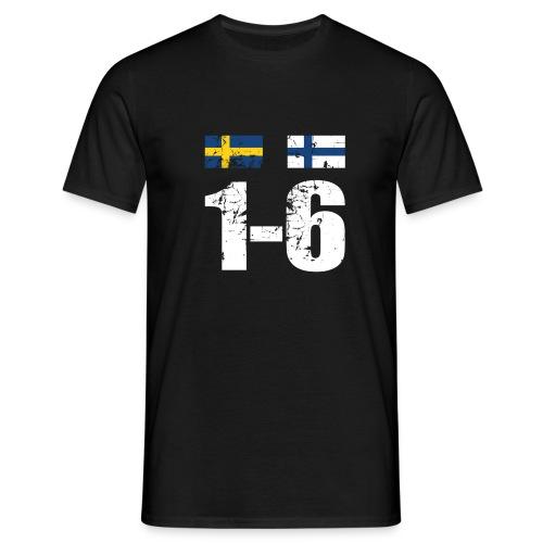 1-6 grunge t-paita | MM 2011 - Miesten t-paita