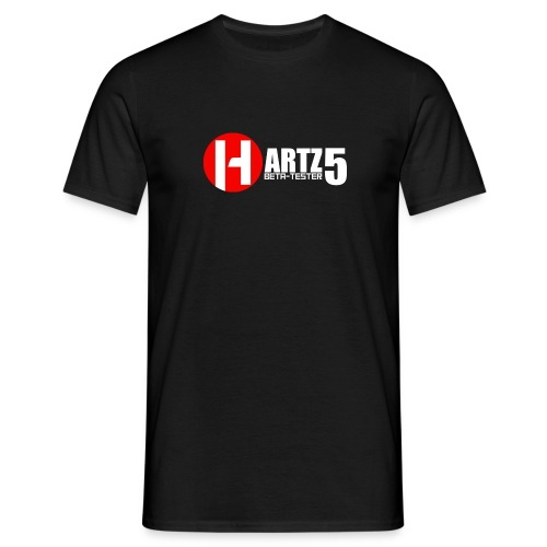 Hartz5 Beta-tester - Männer T-Shirt