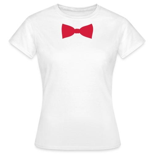 woman's bow tie  - Women's T-Shirt