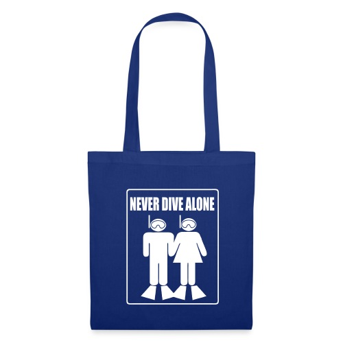 Sac Never Dive Alone - Tote Bag