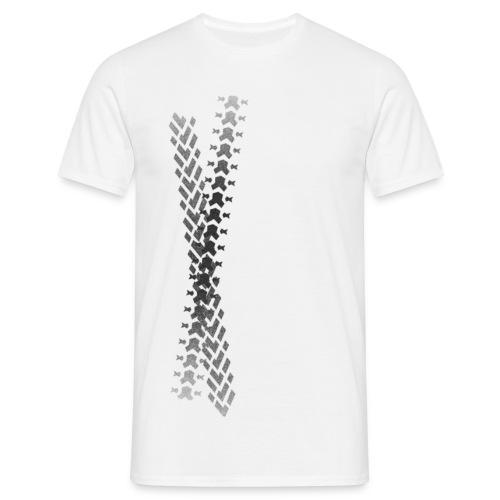 Bicycle Tread 9 - Men's T-Shirt