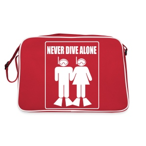 Never Dive alone - Sac Retro