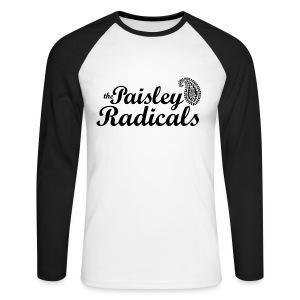 Paisley Radicals - Men's Long Sleeve Baseball T-Shirt