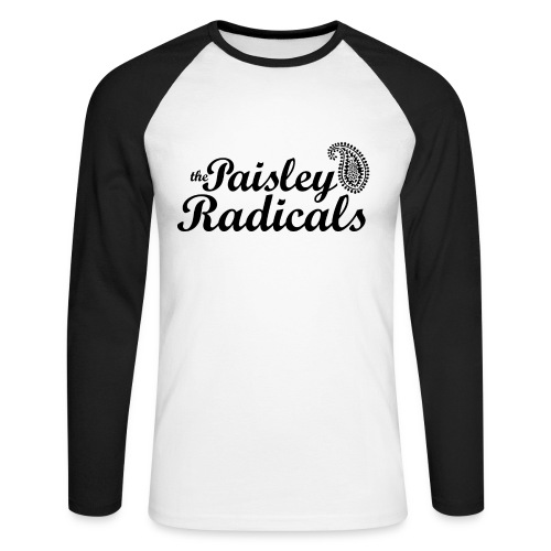 Paisley Radicals - Men's Long Sleeve Baseball T-Shirt
