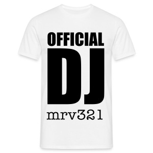 *MENS T-shirt* Official DJ ..... - Men's T-Shirt