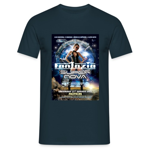 Fantazia Supernova event T-shirt - Men's T-Shirt