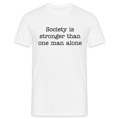 society - Men's T-Shirt