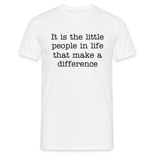 little people - Men's T-Shirt