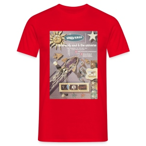Universe Mind Body & Soul Event flyer - Men's T-Shirt