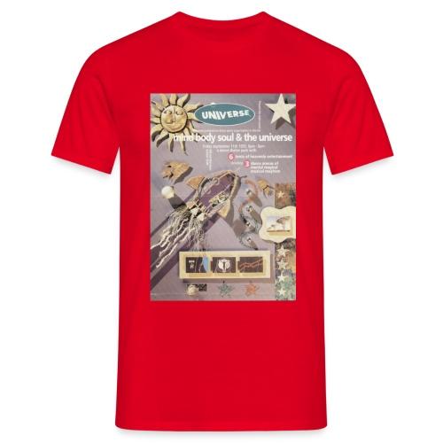 Universe Mind Body & Soul Event flyer - Men's T-Shirt