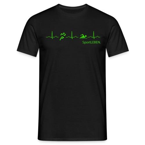 SportLEBEN - DigitalDruck - Männer T-Shirt