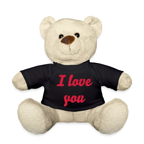 I love you - Nalle