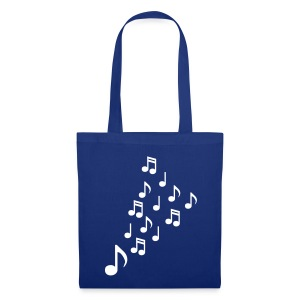 Music Notes Tote Bag - Tote Bag