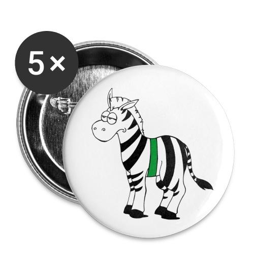 NatFak-Buttons - Buttons klein 25 mm (5er Pack)